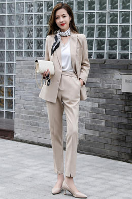 Z21CT8062春装新款西服套装潮时尚修身西装