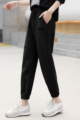 Z21CK8017休闲长裤女束脚裤修身显瘦薄款运动裤