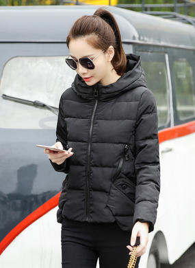 Z16DM8628女短款冬季韩版显瘦棉衣