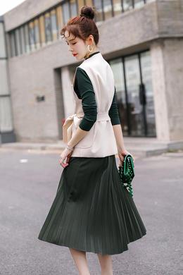 秋季小香风裙子套装2019新款韩版洋气时尚优雅气质显瘦百搭三件套