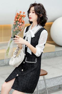Z21CTF8031时尚韩版两件套连衣裙